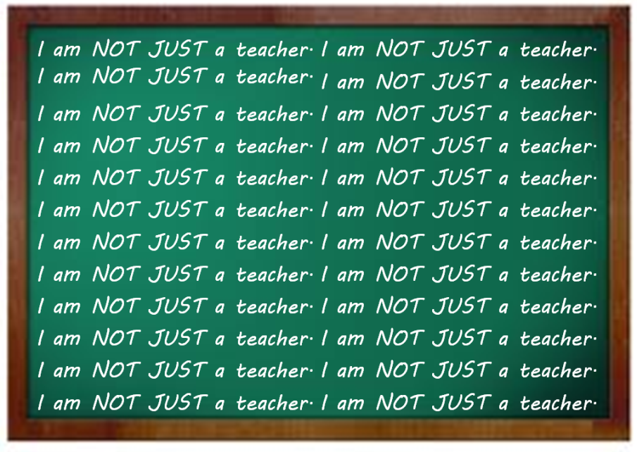 Im NOT just a teacher
